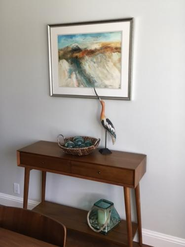 Dunes Abstract in collectors home